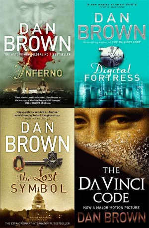 Dan Brown Books ( Inferno, Digital Fortress, The Lost Symbol, The Da Vinci Code ) 4 in 1