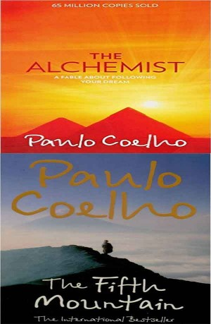 Paulo Coelho Books ( The Alchemist, The Fifth Mountain ) 2 in 1
