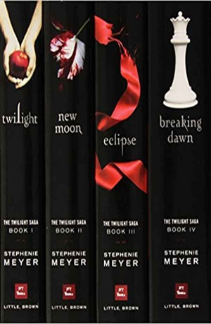 The Twilight Saga (New Moon, Twilight, Eclipse, Breaking Dawn ) 4 in 1