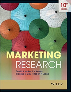 Marketing Research (Aaker, Kumar & George S. Day )
