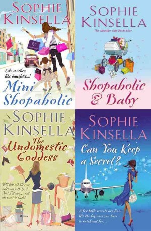 Sophie Kinsella Books ( Mini Shopaholic, Shopaholic & Baby, The Undomestic Goddess, Can You Keep A Secret? ) 4 in 1