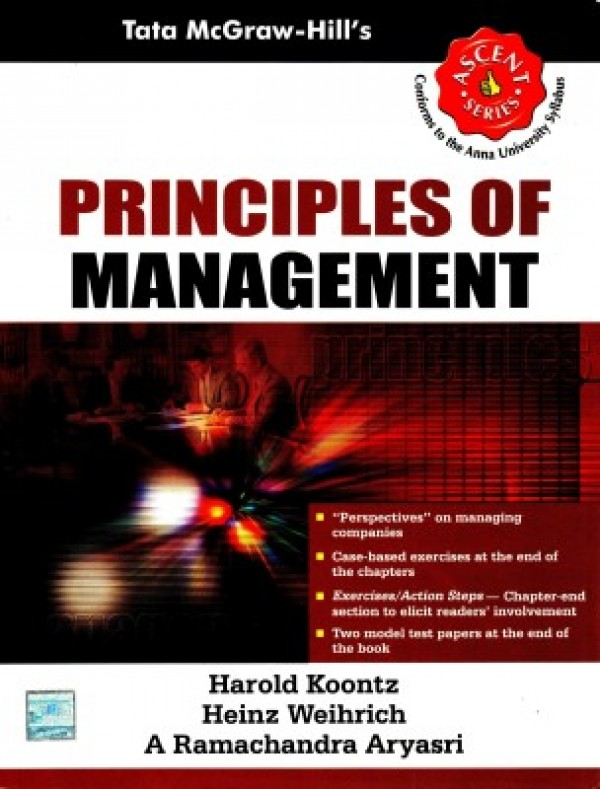 Of book principles management